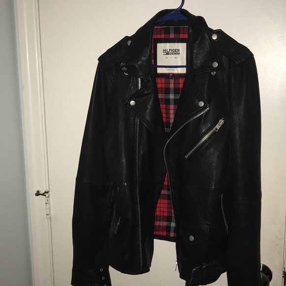 Tommy Hilfiger Rolling Stones leather jacket